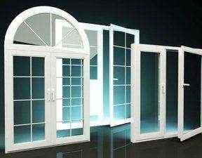 پنجره سه جداره کمانی