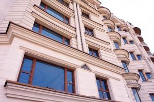 معماری ساختمان درب و پنجره دوجداره