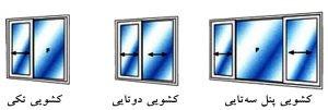 پنجره کشویی ایران