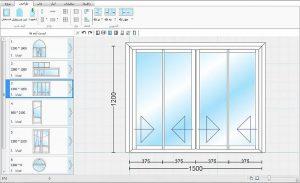 طراحی پنجره یو پی وی سی