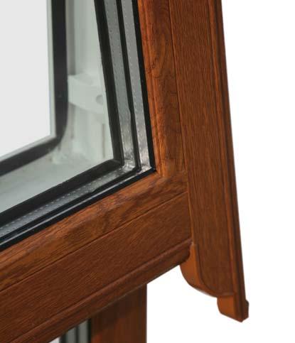 پنجره یو پی وی سی طرح چوب شیک اتاق خواب
