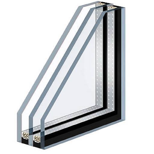 پنجره یو پی وی سی سه جداره خانه ویلایی برای شهرهای سرد سیر