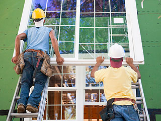 تعویض پنجره سه جداره مدل جدید کشویی