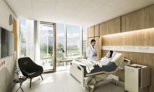 پنجره یو پی وی سی بیمارستان