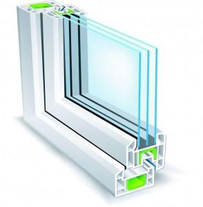 شیشه دو-جداره صنعتی