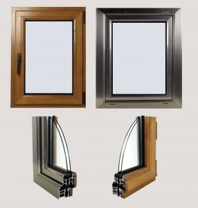 پنجره آلمینیومی ترمال بریک