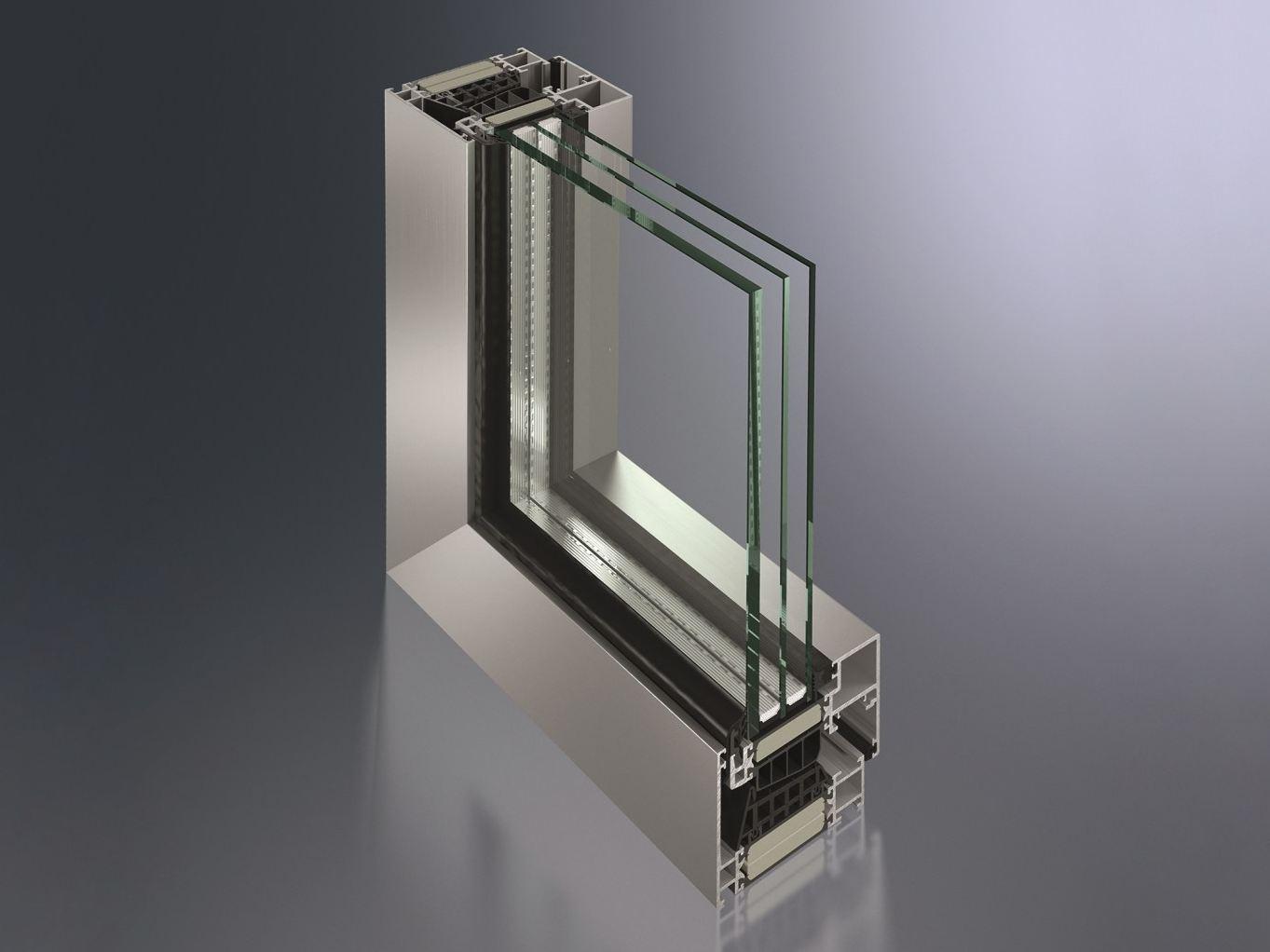 قیمت پنجره سه جداره درب و پنجره Upvc