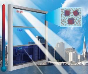 شیشه های هوشمند ساختمان