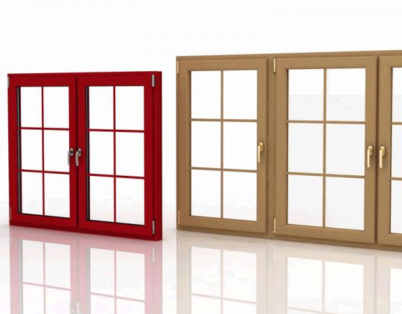 تفاوت پنجره دوجداره لمینت و سفید