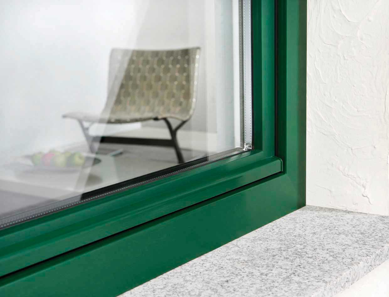 خرید پنجره دو جداره جدید ویستا بست رنگی