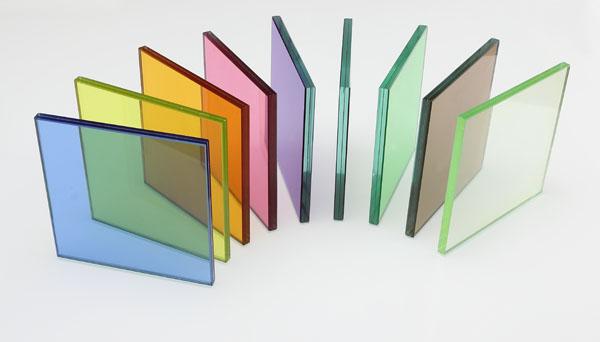 شیشه رنگی دوجداره