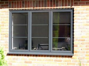 درب پنجره دوجداره آلومینیومی