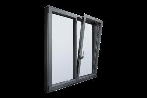 پنجره دو جداره بو پی وی سی آلومینیومی