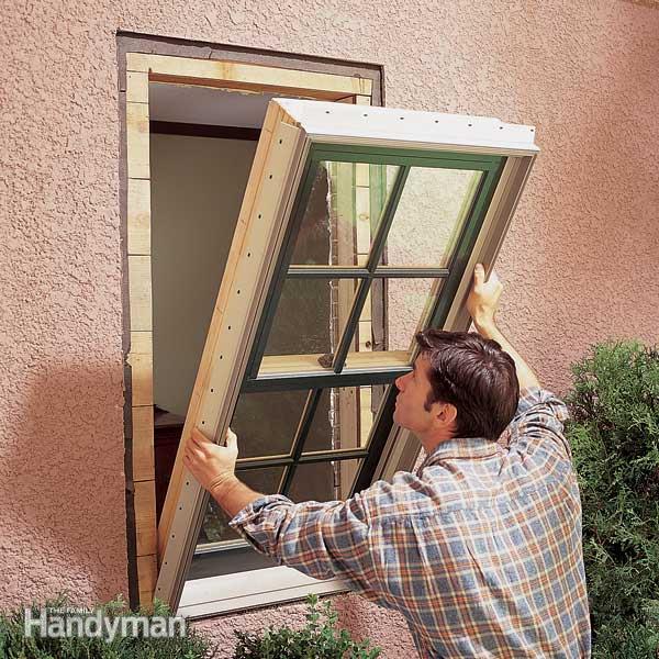 تعویض پنجره تک حالته به کشویی